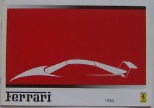 Ferrari Range 348 tb ts Mondial t Testarossa F40 1989-91 Original UK Brochure