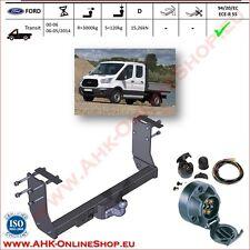 Gancio traino fisso Ford Transit Pick-up 2000-05/2014  + kit elettrico 7-poli