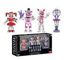 4PCS Five Nights at Freddy's Sister Location Figures Set Party Toys kids Gift