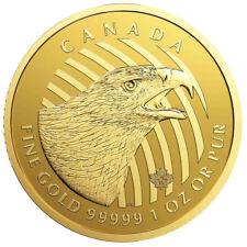 1 oz Golden Eagle 2018 Kanada 200 Dollar Goldmünze 999,99 Call of the Wild Adler