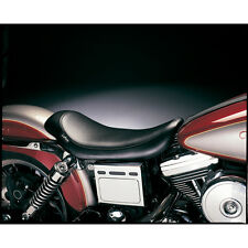 Le Pera Smooth Silhouette Solo Seat for 96-03 Harley Dyna Models