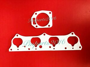 Thermal Intake & PRB Throttle Body Gasket Set Fit Honda Acura RSX SI K20A K20a2
