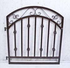 Wrought Iron Delaware Entry Gate - Metal Gates for Fencing 36