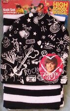 High School Muscial NeW Beanie HAT and Scarf Set Disney TROY Bolton Zac Efron