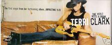 Terri Clark World Needs A Drink CD &  Postcard Mailer