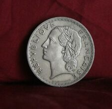 1935 France 5 Francs Nickel World Coin Liberty Head half dollar size