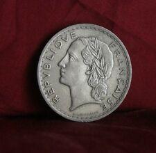 1935 France 5 Francs Nickel World Coin Liberty Head half dollar size