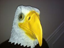 Eagle Mask Creepy Halloween Costume Theater Prop Novelty Latex Rubber Fast ship