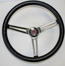 1969-93 Oldsmobile Grand Am Prix Cutlass 442 Grant Steering Wheel Black 15""
