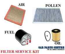 FOR Chrysler 300C 300 C 3.0 CRD AIR OIL FUEL CABIN POLLEN FILTER KIT SERVICE