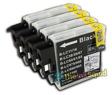 4 Compatible lc985 (Lc39) Cartuchos De Tinta Para Brother Dcp / Mfc Modelos De Impresoras