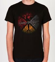 Game Of Thrones FOUR HOUSES DIVIDED T-Shirt NWT Licensed & Official S-3XL