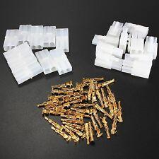 30pcs RC R/C 7.2v Tamiya Battery Male Female Connector Plug Set Gold Plated Pins