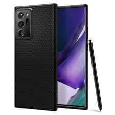 Galaxy Note 20 Ultra (2020) Case   Spigen® [Liquid Air] Black Protective Cover