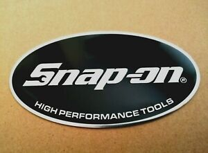 Snap-On Tools New 3D Badge Tool Box Cab Logo Decal Sticker ratchet spanner 150mm
