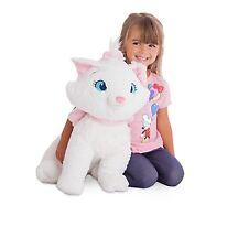 "Disney Authentic Aristocats Marie Jumbo 19"" White Cat Plush Stuffed Animal"