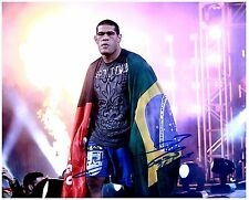 ANTONIO SILVA Signed Autographed UFC MMA 8X10 PIC. M