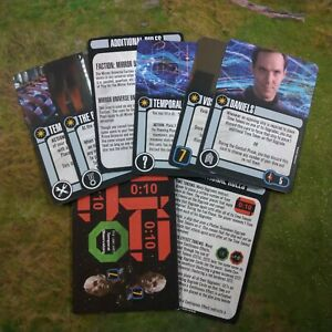 Star Trek Attack Wing The Temporal Cold War Card Pack OP Grand Prize NEW