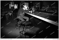 Hank Williams III FANTASTIC 19x13 Bar Photo From Original Neg/Numbered 3rd/no cd