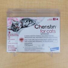 New listing Elanco Cheristin for Cats Kills Flea Control and Prevention 3 Doses New