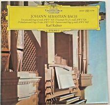 J.S.BACH: Organ Works ~Karl Richter <DGG138907 SLPM ST LP TULIPS GER'64>*NM*