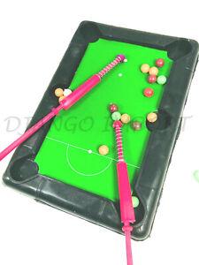 Kids Mini Billiard Ball Snooker Tabletop Pool Table Kids Snooker Game UK