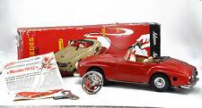 Schuco Fernlenkauto 2095 Mercedes Benz 190 SL Cabriolet rot  60er Jahre