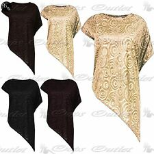 Unbranded Women's Stretch Polyester Short Sleeve Sleeve Tops & Shirts