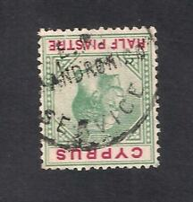 CYPRUS E.R AY. ANDRONICO RURAL POSTAL SERVICE POSTMARK CANCEL ON George V STAMP
