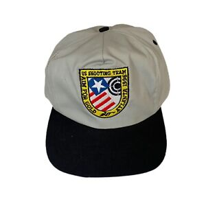 US SHOOTING TEAM Hat Cap 1996 Olympics Aim For Gold Snap Back Adjustable
