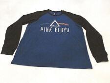Pink Floyd Dark Side of the Moon Men's Graphic T-Shirt XL Blue Black Long Sleeve