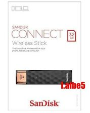 SanDisk Connect Wireless 32GB WIFI USB Drive Stick for iPhone Android Tablets