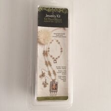 Photo Charm Jewelry Kit Necklace, Bracelet, & 2 Earrings New Sealed Package