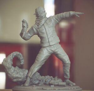 Banksy figure model