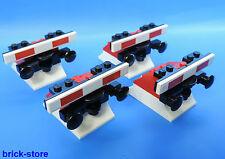 LEGO FERROVIA Fermata di Tampone nr.7 / rosso con tampone / 4 pezzi