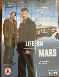 Life On Mars The Complete Series Two. DVD - NEW SEALED EB11