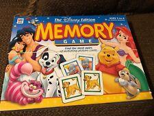 COMPLETE Disney Edition MEMORY GAME w/ Dumbo Bambi Peter Pan Pinocchio Aladdin