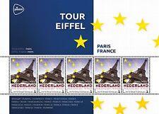 Paises Basos  Europa 1  Francia  Tour Eiffel      bloque nuevos  s