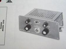 FANON 3510 MOBILE AUDIO AMP AMPLIFIER PHOTOFACT