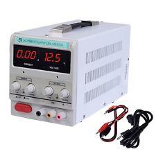 30V 5A 110V Precision Variable DC Power Supply Digital Adjustable Lab w/clip New