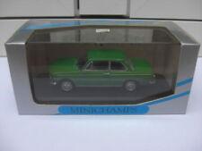 BMW 1600 1602 sedan green Minichamps 430022102 MIB 1:43 2500 M3 3er 5er 7er RARE