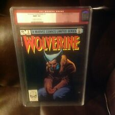 Wolverine  Limited  Series #  3    cgc 9.9 mint  0w /White pages   -----