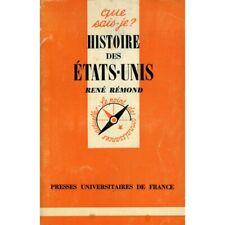 Histoire des Etats-Unis / Rémond, René / Réf20138