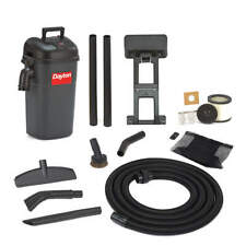 DAYTON 13J021 Wall-Mount Shop Vacuum,5 gal.,Plastic