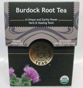 Buddha Teas Certified Organic Burdock Root Tea 18 Tea Bags