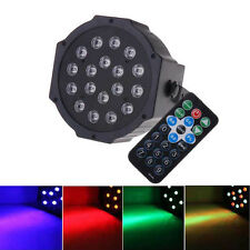 36W 6CH RGB Club DJ Party DMX Stage Lighting LED Par Projector Light w/ Remote
