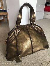 YSL YVES SAINT LAURENT Muse Bag Large Borsa bronzo