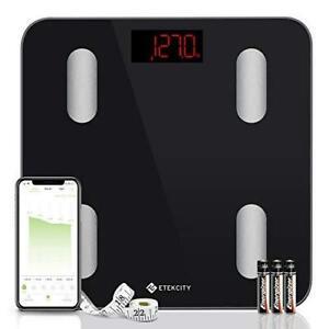 Etekcity Digital Weight Scale, Smart Bluetooth Body Fat Bathroom...