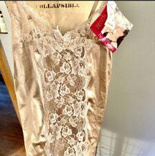 Vintage 1970s 1980s Lacey One Piece Bodysuit Lingerie Deadstock