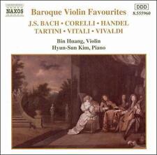 Baroque Violin Favourites / Vaious, New Music